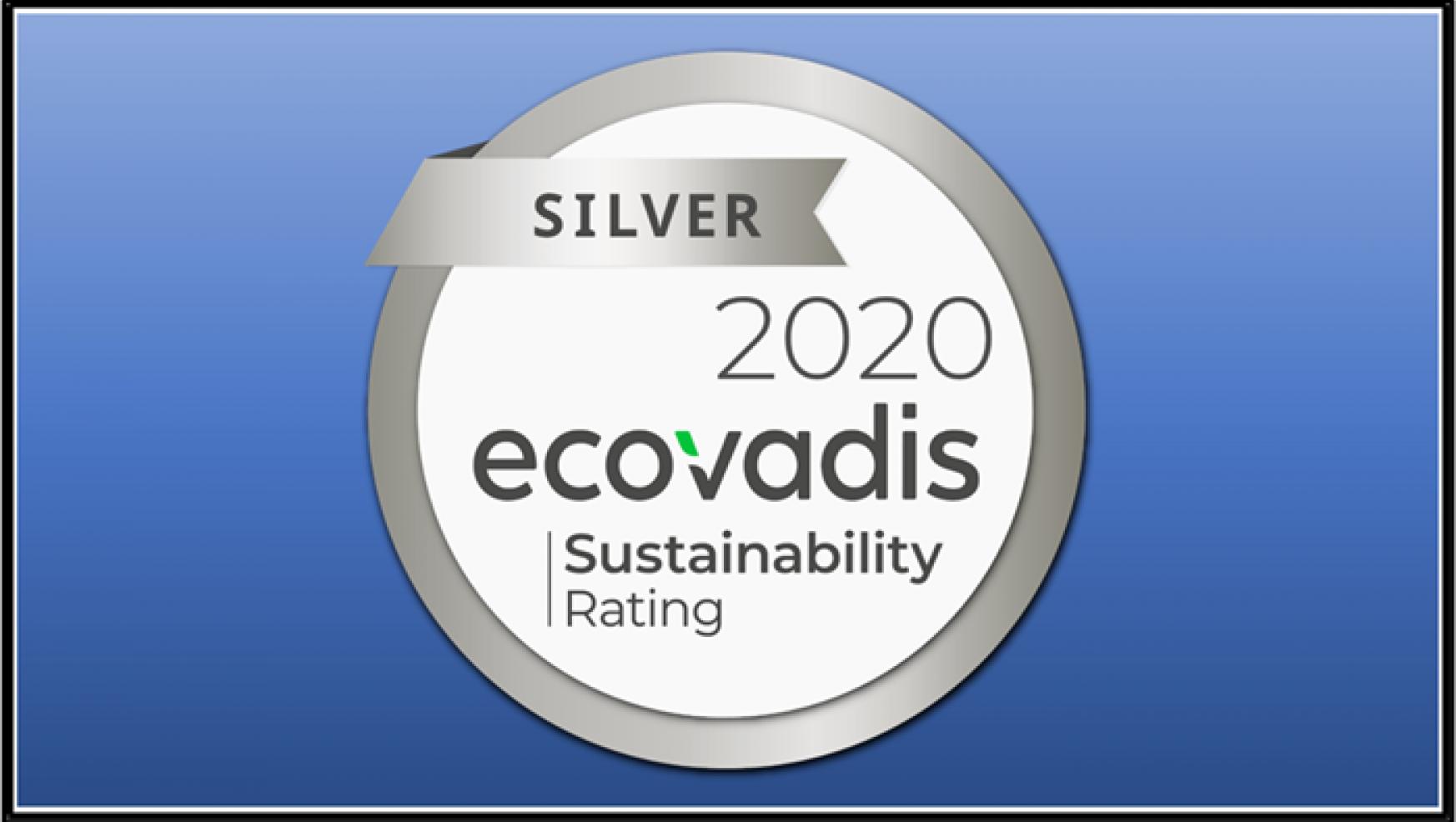 2020 EcoVadis Silver Award
