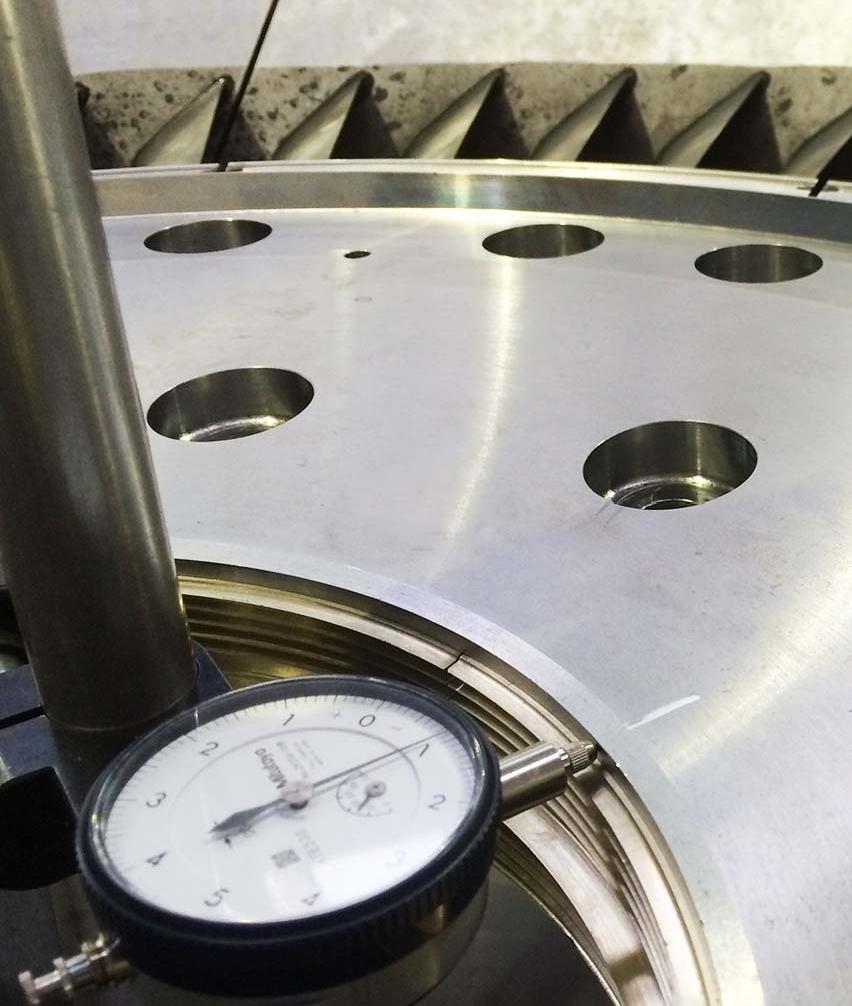 GEC Turbine Nozzle Clock