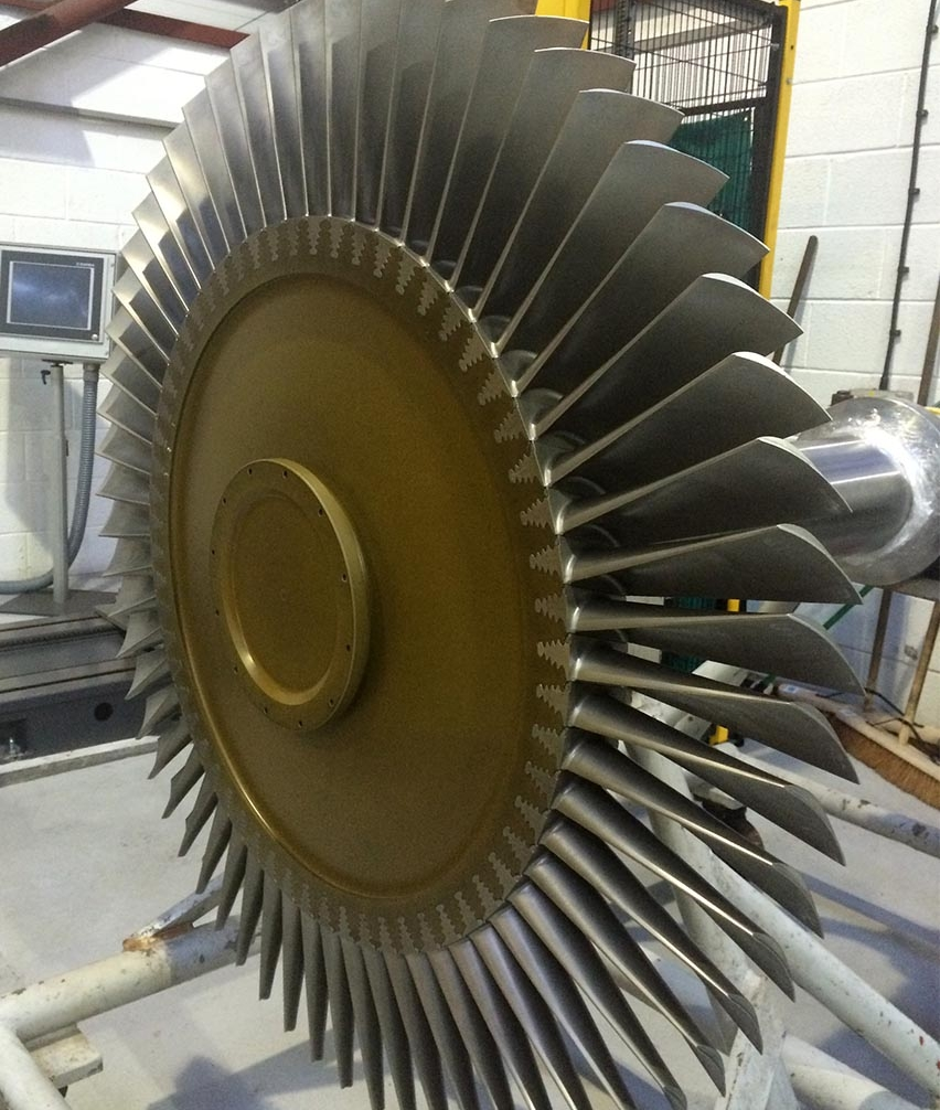 Gas Turbine Core Parts: Gas Turbine Rotor